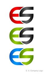 E. S. Company Logo