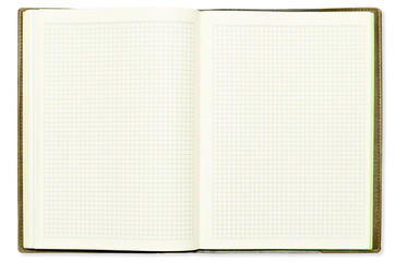 Blank page of cell sheet book