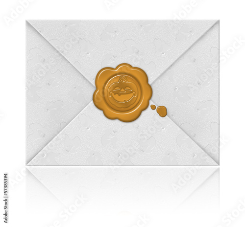 Envelope for Halloween