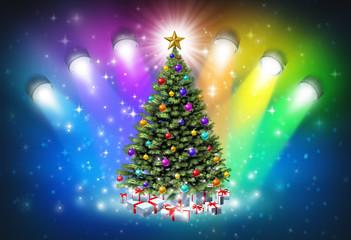 Christmas Spotlights