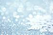 Snowflake on glitter