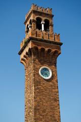 San Stefano church bell tower, Murano