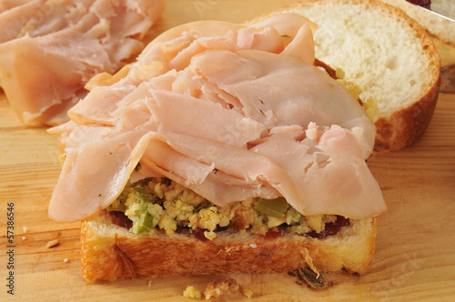 Turkey sandwich fixings
