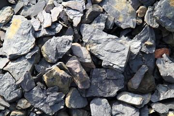 Schiefer vom Tagebau