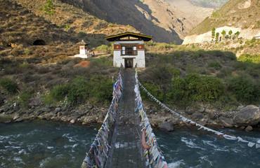 Monastery, Tamchhog Lhakhang, Bhutan