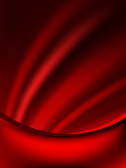 Red curtain fade to dark card. EPS 10