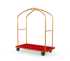 Hotel Baggage Trolley