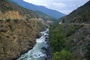 River, Bhutan