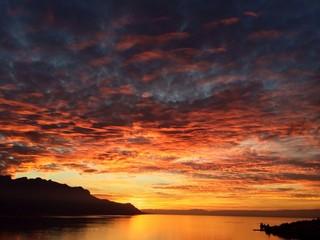 Sunset Montreux