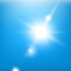 06_Sky_Blue_Beams