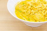 Thai Noodle Curry Soup