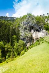 Predjama castle in Slovania