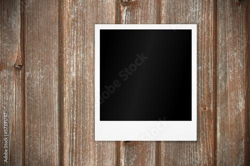 holztor mit sofortbild blanko I © WoGi
