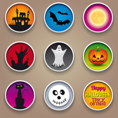 Helloween Badge Pins