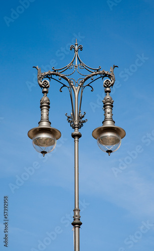 Antique lamp post