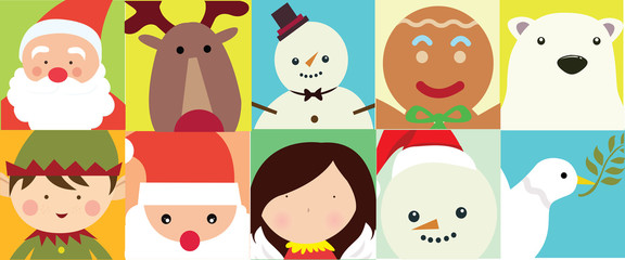 christmas character illustration