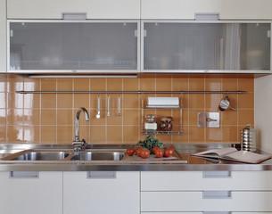 dettaglio di una moderna cucina