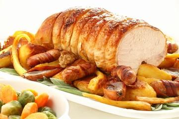 roast turkey rolled breast