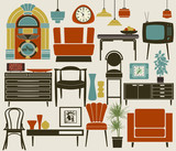 Retro Furniture, Accessories and Appliances