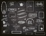 Chalkboard Ads, Frames and Banners