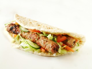 shish kofta kebab