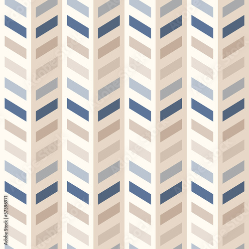 Deurstickers ZigZag Fashion abstract chevron pattern