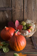 .pumpkin apfel basket