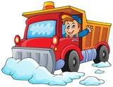 Snow plough theme image 1