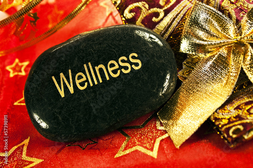 canvas print picture Weihnachten - Wellness