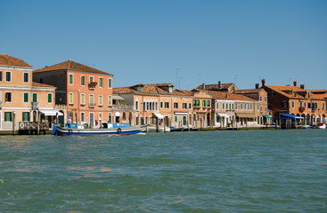 Murano from the Venice lagoon