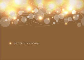 Abstract circle and curve  Background  Vector