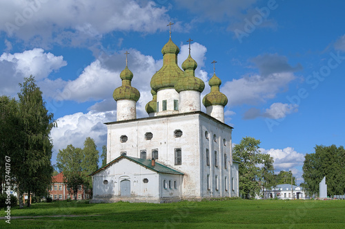 John the Baptist Church in Kargopol, Russia