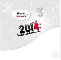2014, voeux 2014 drôle