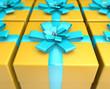 Yellow presents
