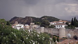 Granada, province of Andalusia, in windy day, Spain