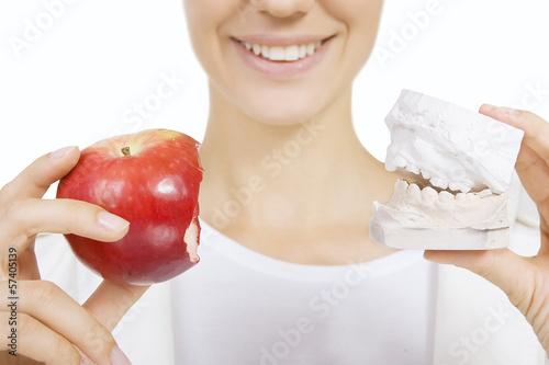 Fototapeten,zahnärztin,restauriert,zahn,stümpfe