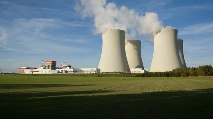 Nuclear power station Temelin