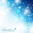 Festive Christmas Background - Vector Illustration