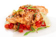 Chicken breast cooked in asian style