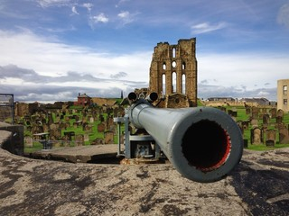 cannon Tynemouth Priory