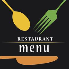 colored menu design