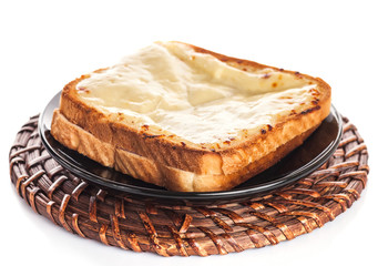 Sandwich With Gratin Cheese