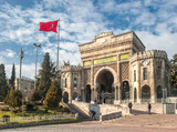 Istanbul university building, Turkey