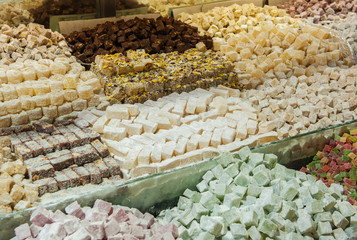 Turkish sweets at Grand Bazaar, Istanbul