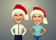 funny picture of christmas couple