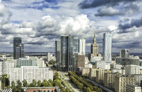 Warsaw downtown - 57410302