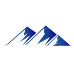 Vector of Mountains logo background