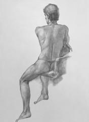 Male Nude Art Model