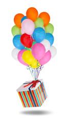 Uçan Balonlar ve Hediye