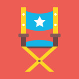 Vector Director Chair Icon